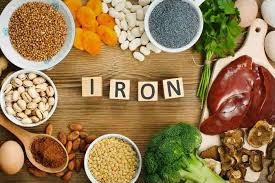 Where is iron in foods