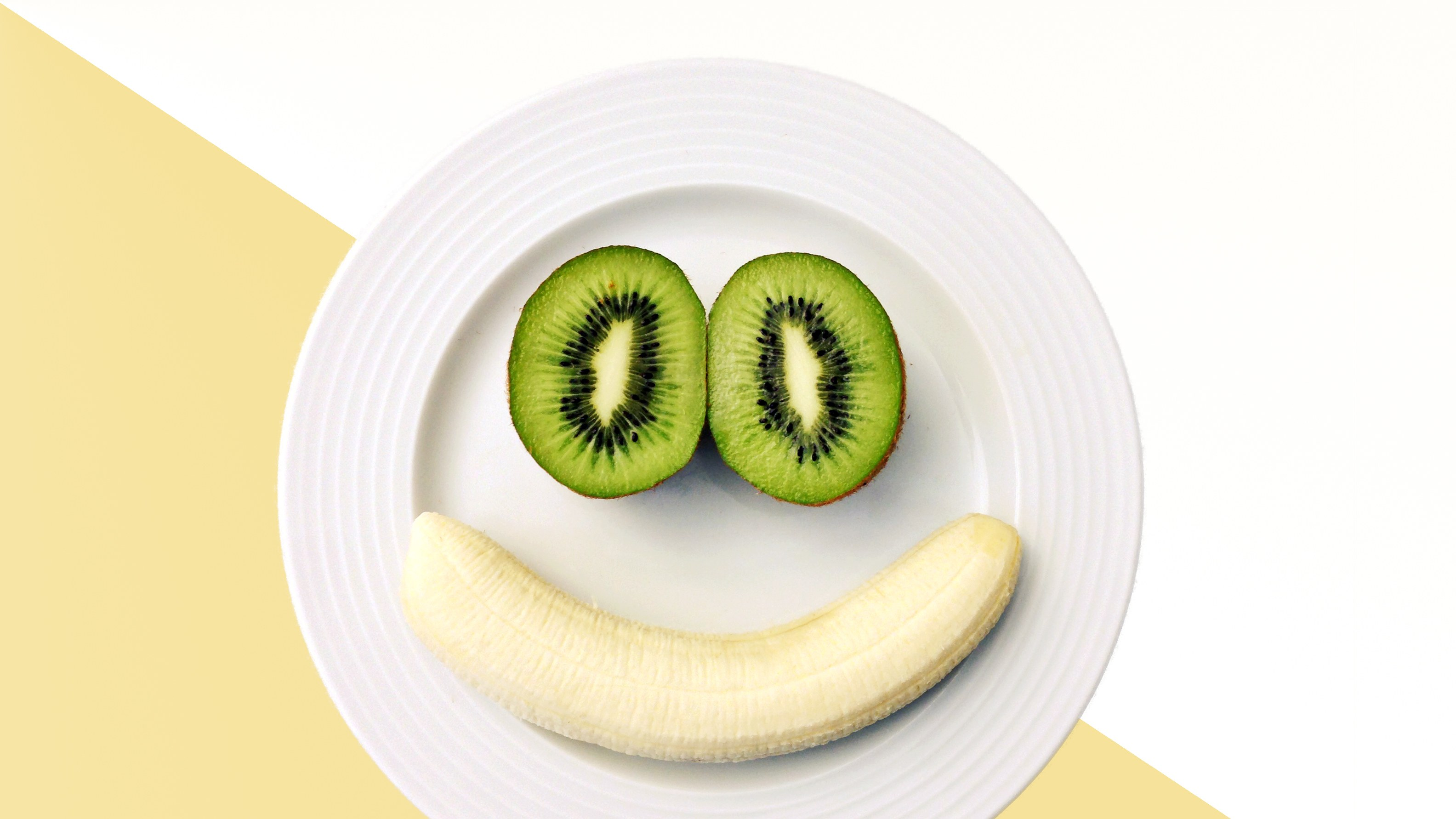 Banana and Kiwi fruit