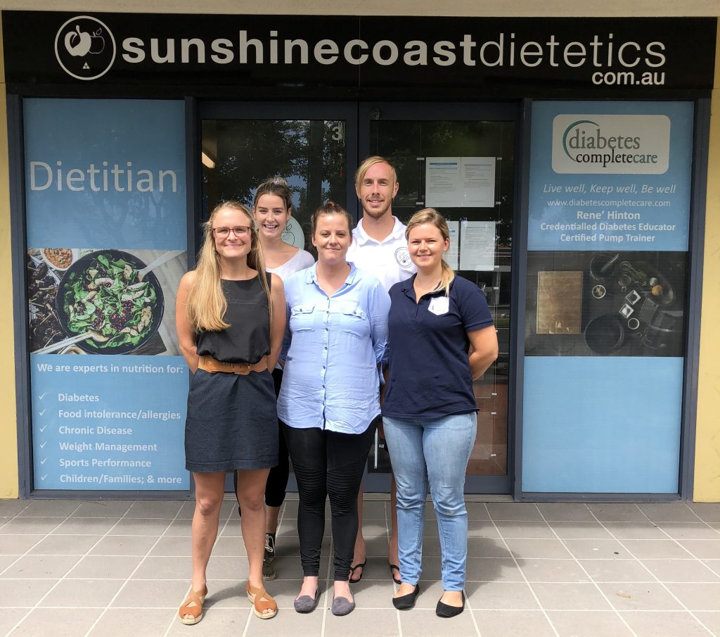Sunshine Coast Dietetics Team Photo