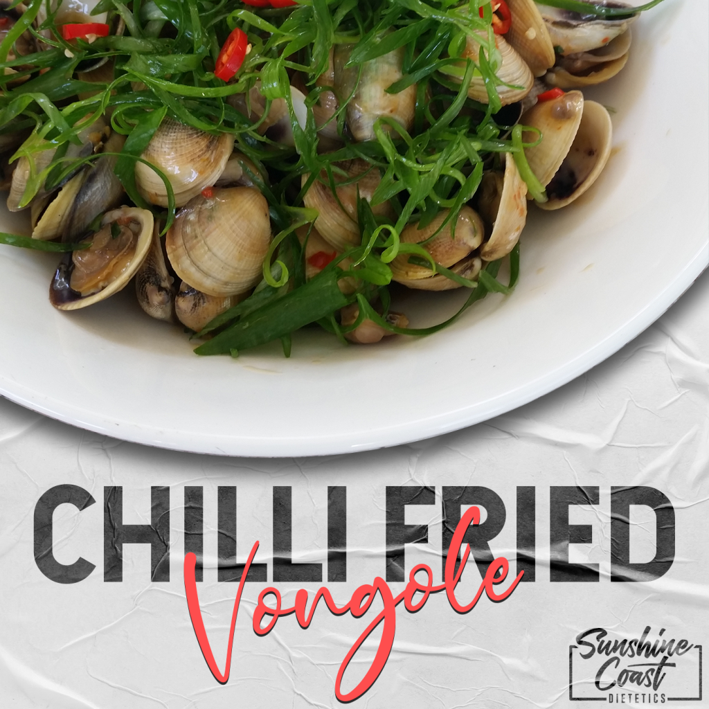 chilli fried vongole