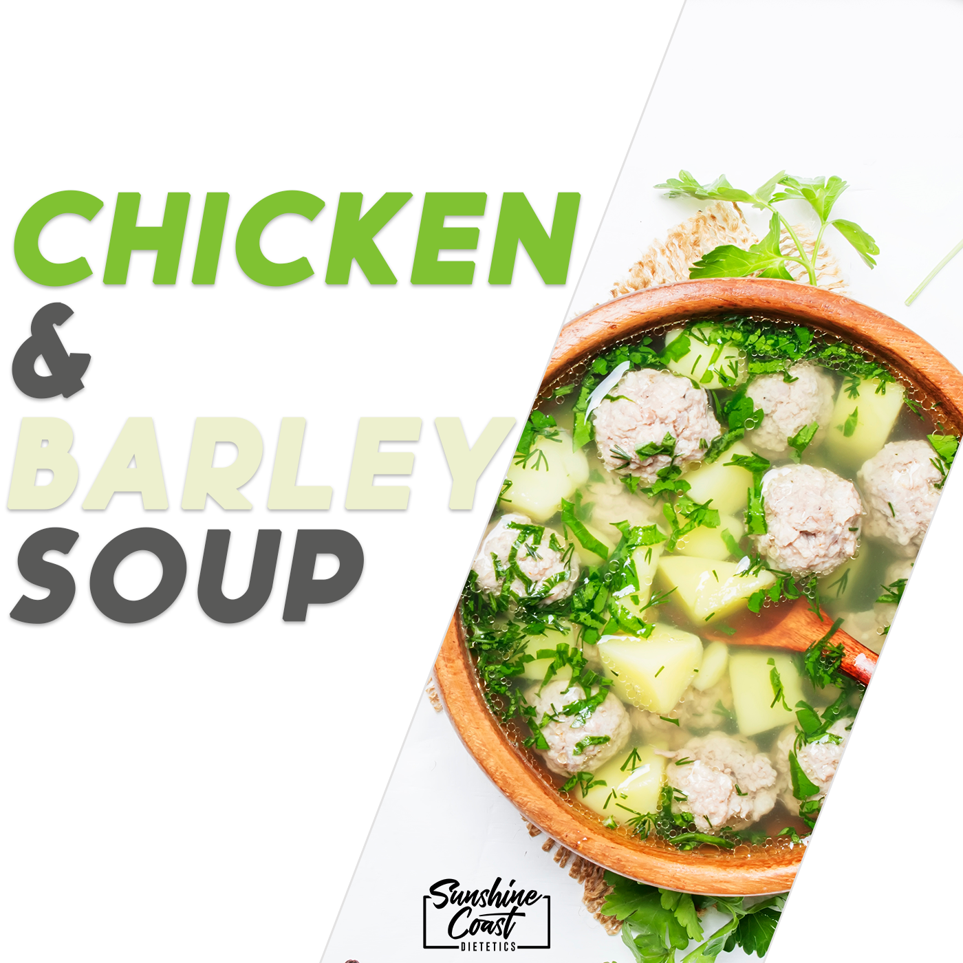 Recipe: Chicken & Barley Soup