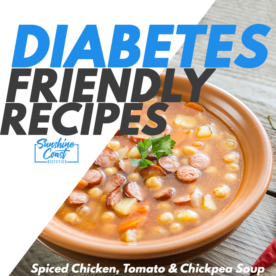 Recipe: Diabetes Friendly – Spiced Chicken, Tomato & Chickpea Soup