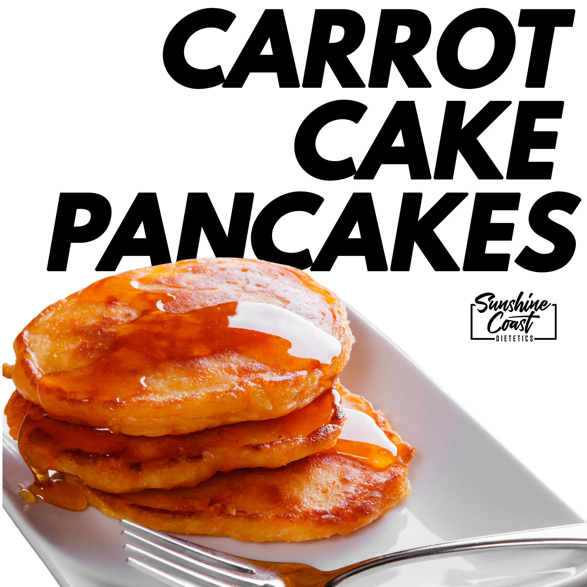 Recipe: Carrot Cake Pancakes