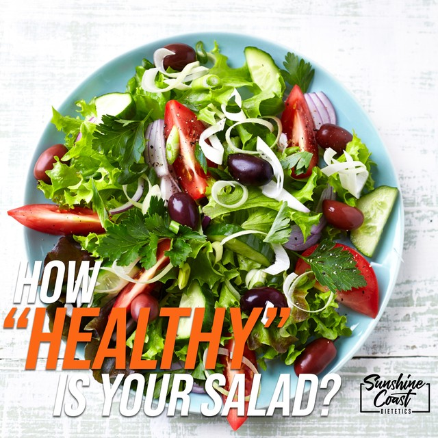 """How """"Healthy"""" Is Your Salad?"""